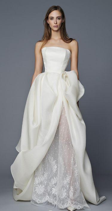 Featured Dress: Antonio Riva; Wedding dress idea.
