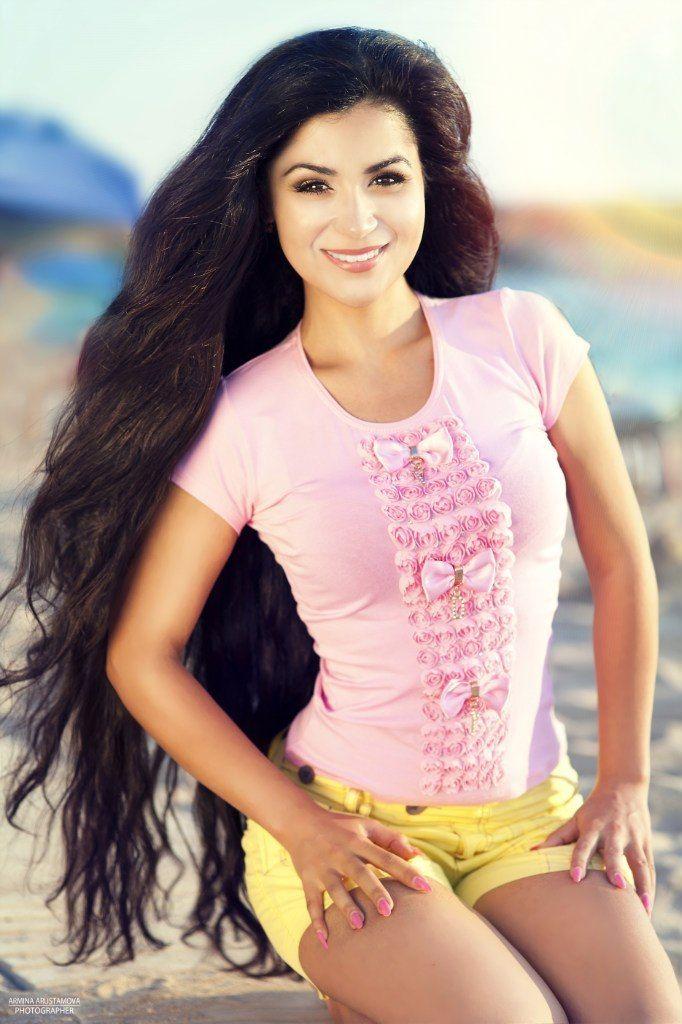 14 best Amalia Bagirova images on Pinterest   Long hair