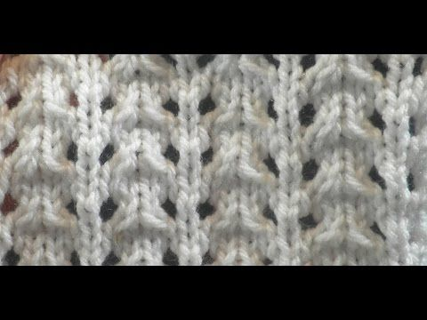 Knit Pattern * VERY EASY LACE STITCH *