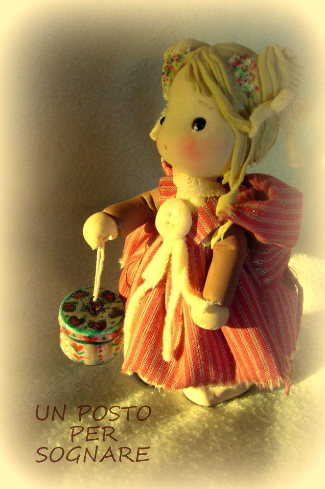 and-made, bamboline porcellana fredda,dolls,doll porcelana fria,pasta mais,paste polimere.