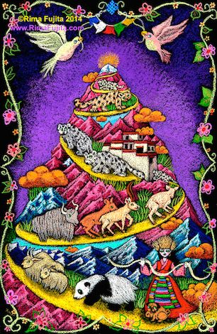 Rima Fujita | Holy Kailash / 聖なるカイラス山