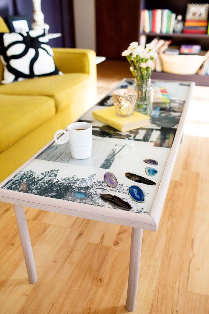 Les 1491 meilleures images du tableau meubles sur pinterest - Peindre une table en verre ...