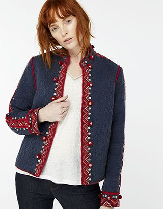 9f1221d18899c Eliza Embroidered Jacket | Beautiful Clothes | Embroidered jacket ...