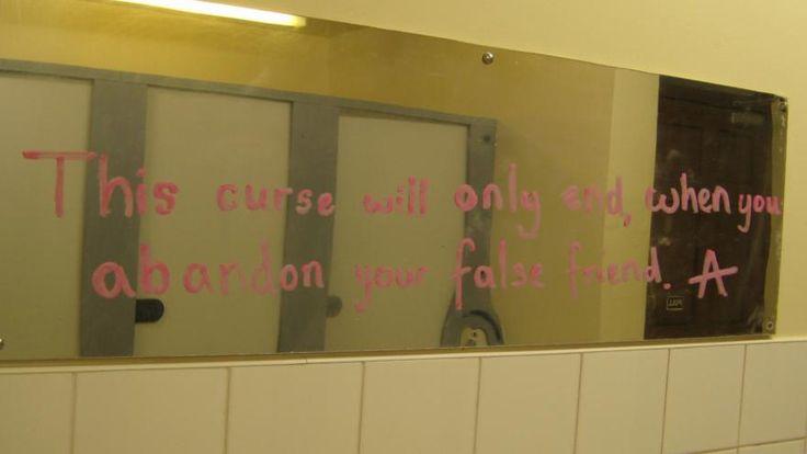 A poem written by Alice