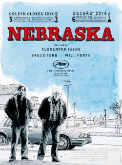 Nebraska - this movie has beautiful landscape cinematography, and it's a nice story about a son and his aging father.