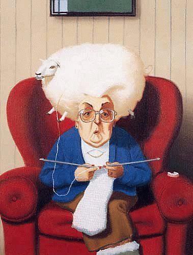 A knitter.