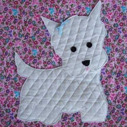 Westie Applique Sewing Crafts Pinterest Appliques
