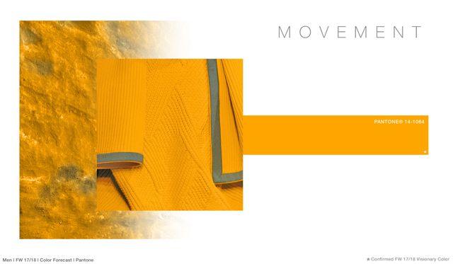 #FashionSnoops FW 17/18 color on #WeConnectFashion. Men's: Movement - Joy Brights Palette