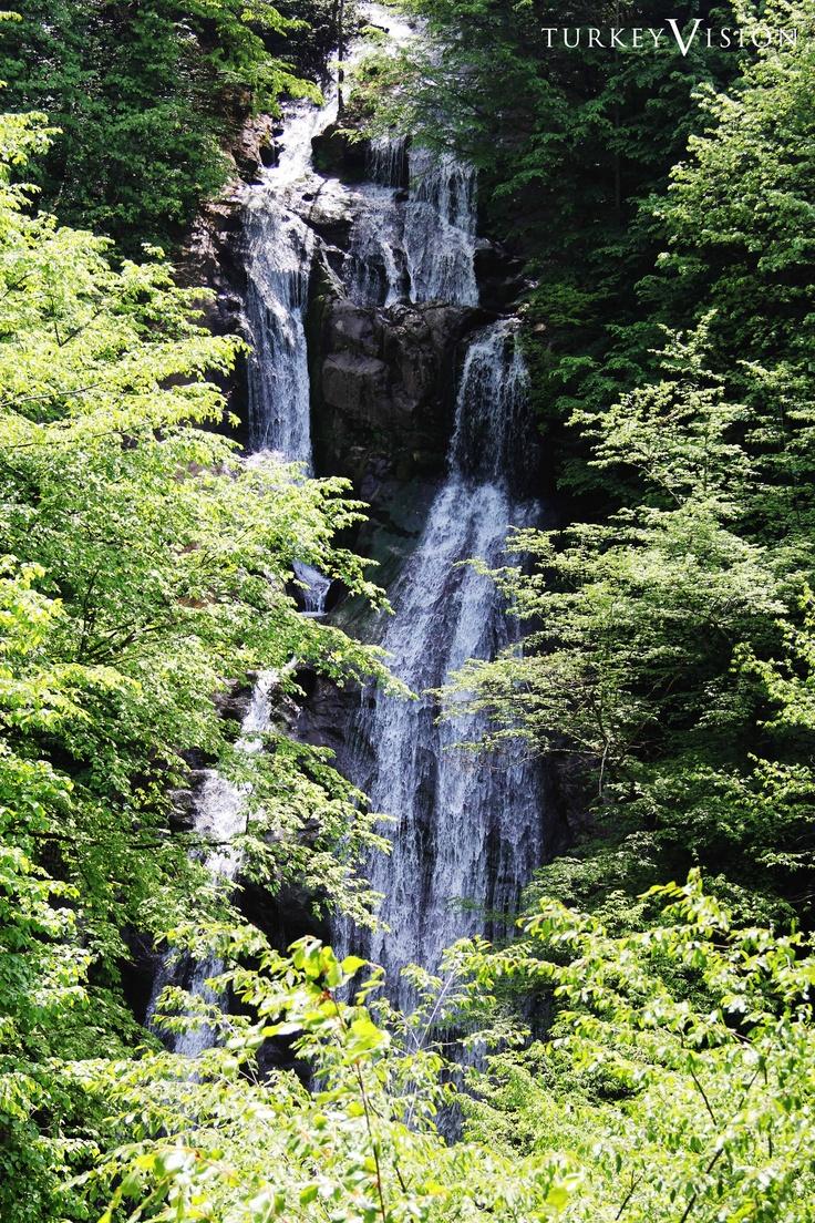Guzeldere Waterfalls near Duzce, Istanbul