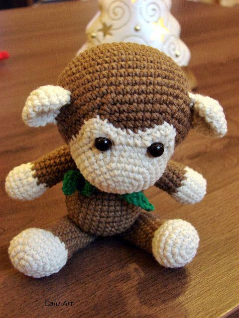 Calu Art: moja pierwsza małpka