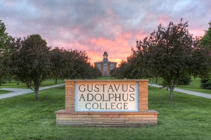 Gustavus Adolphus College in St Peter, MN ~ where my daughter went to college
