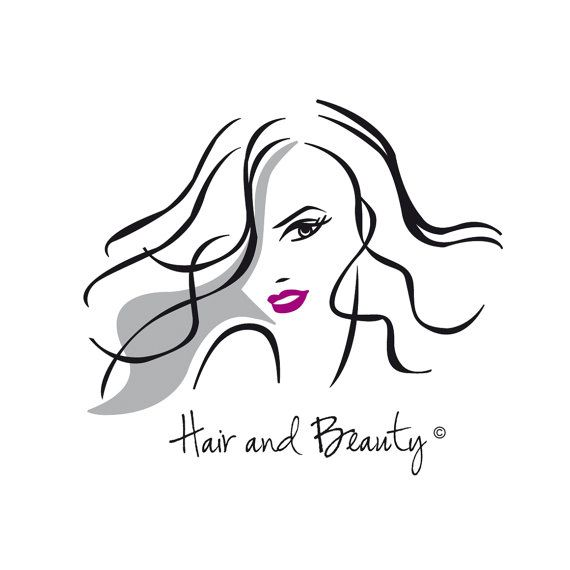 Hair And Beauty Logo Ideal For A Small Business