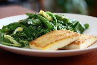 Salada de Vagem com Ervas e Tofu Frito