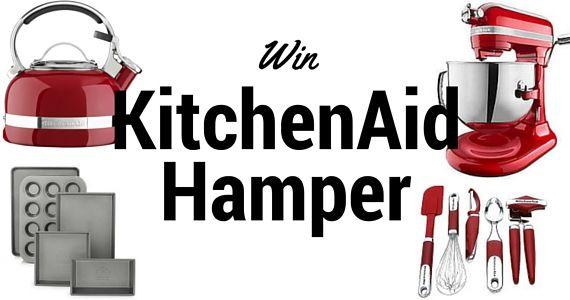 Win a KitchenAid Hamper Worth R16 765 - I think blue would perfectly match my kitchen