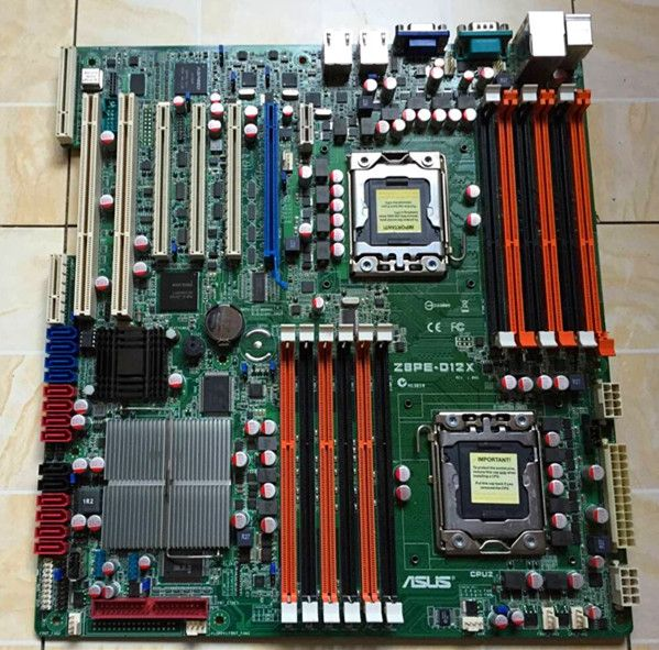 ASUS Z8PE-D12X LGA 1366 Server PCI-E x16 PCI-X Motherboard