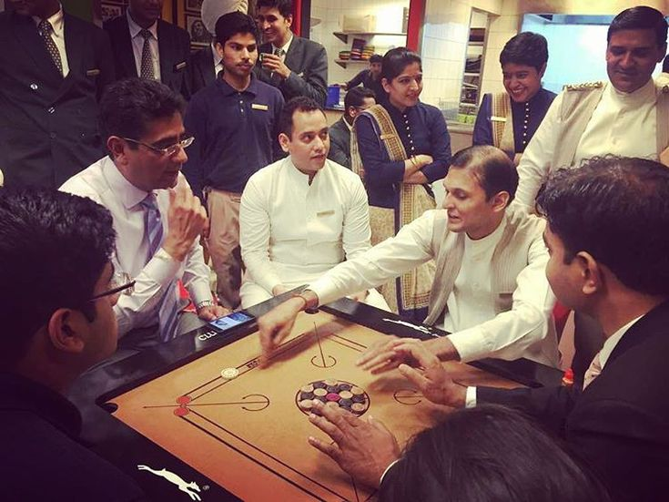 A high energy carrom game with General Manager Mr. Amitabh Rai and the team at Trident, Gurgaon. Part of a series of ' The Trident Carrom Championship.' #tridenthotels #tridentdiaries #tridentgurgaon #TridentExperiences #carrom #games #teamspirit #fun #workplacefun #breakfromwork #igers #igersindia #igersoftheday http://unirazzi.com/ipost/1496879123719797237/?code=BTF-6HZBDn1
