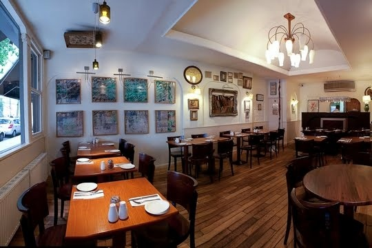 restaurant Hafez, Bayswater London. Picture courtesy of zagat.com love it!!!