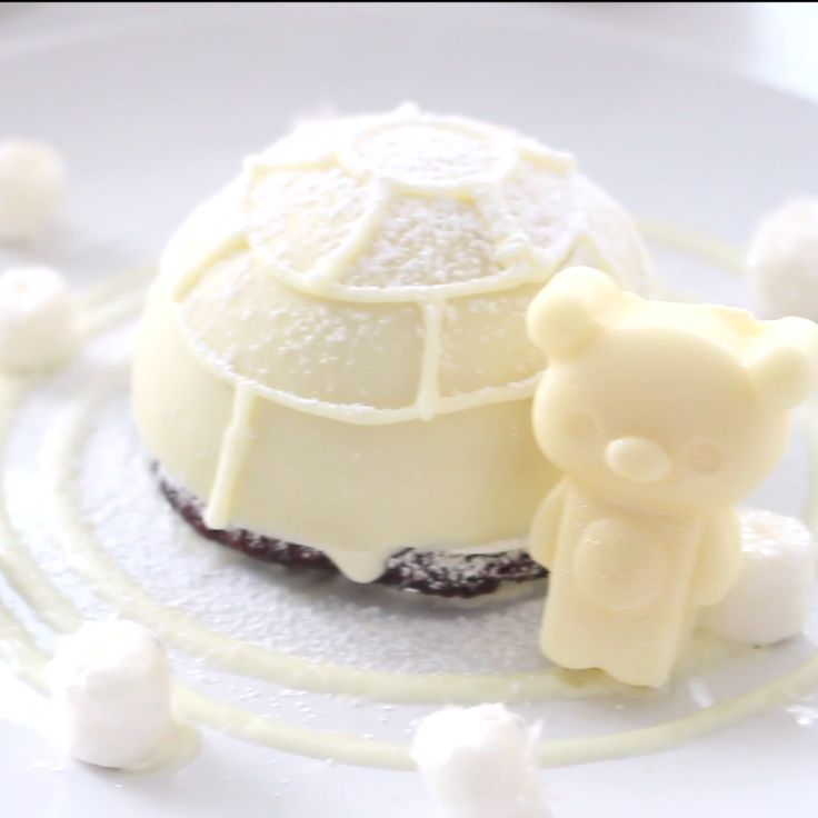 Winter isn't always cold and bitter - sometimes it's fun and sweet! An original dessert, easy to make.