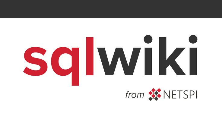 This wiki's mission is to be a one stop resource for fully identifying, exploiting, and escalating SQL injection vulnerabilities across various Database Management Systems.