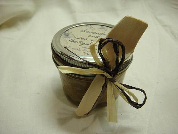 Lavender Tea Tree Body Scrub Spa Relaxing Graduation