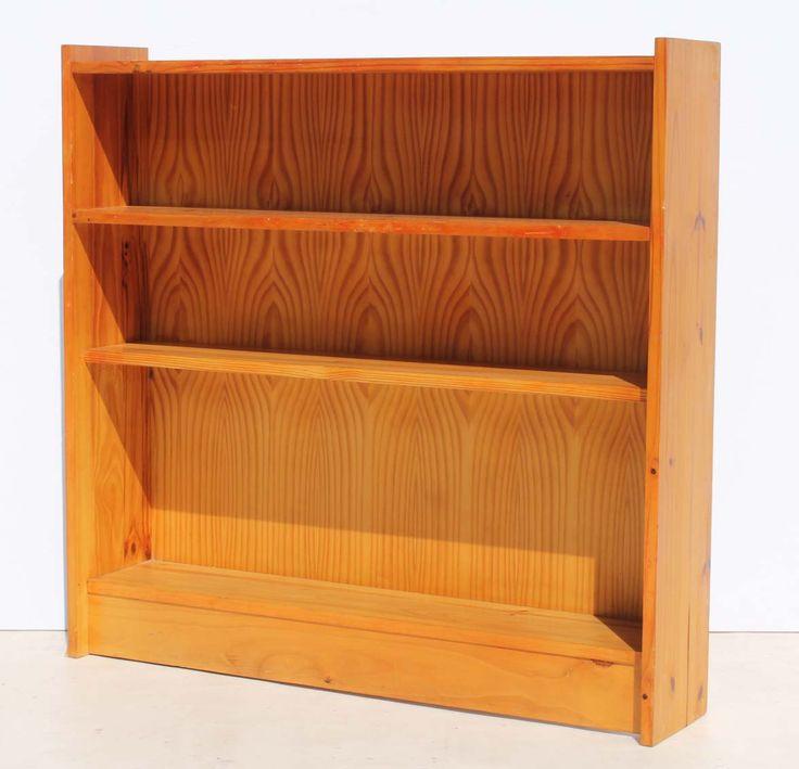 Condition:  Used  Two Shelf Pine Bookshelf  size: 1020 L x 210 W x 960 H  R400  Cell 076 706 4700  Tel 021 - 558 7546  www.furnicape.co.za  0202