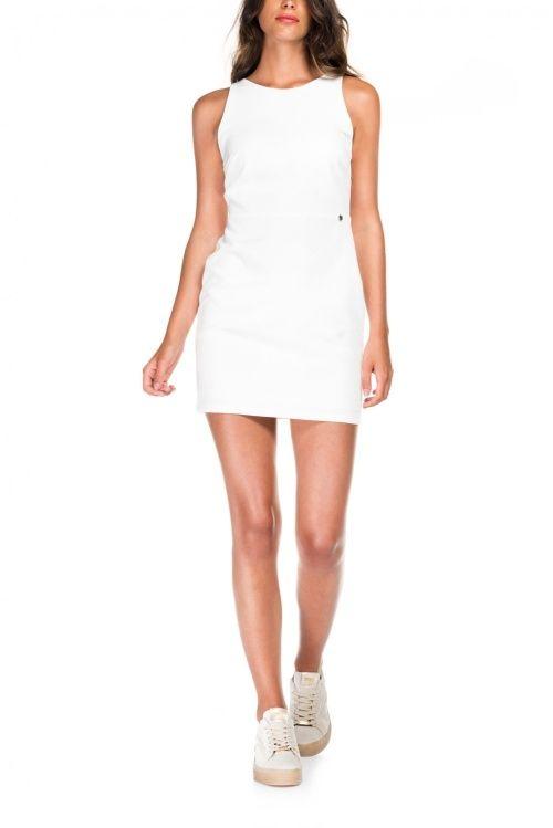 Salsa Store - Vestido corto blanco liso