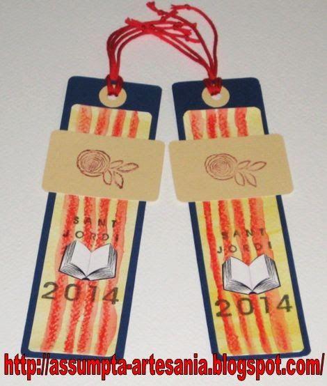 Artesania Assumpta: Tot fet a mà: Punts de llibre Sant Jordi 2014 (I)