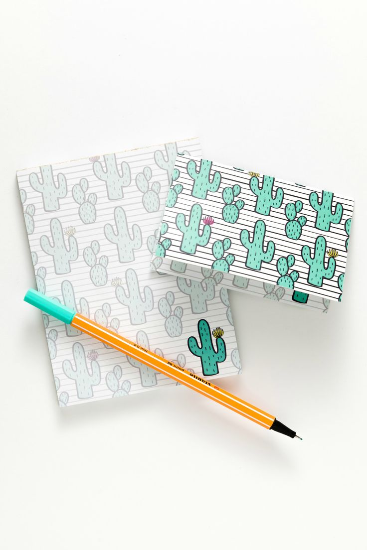 cactus notepad & notecards by Sucre Shop | Sucre Shop