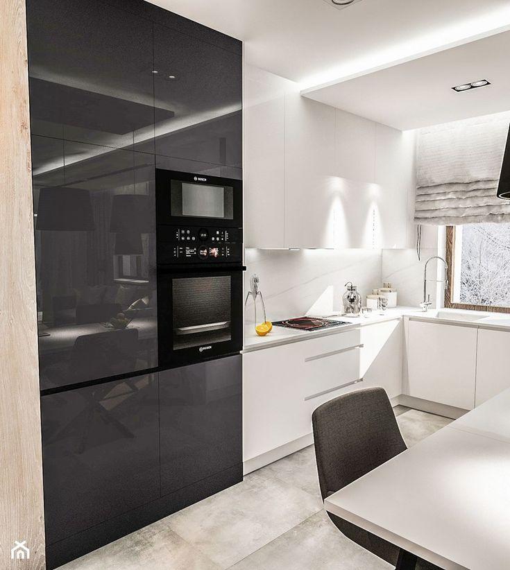 122 best kuchnia images on Pinterest Kitchen ideas, Kitchen modern - wand laminat küche