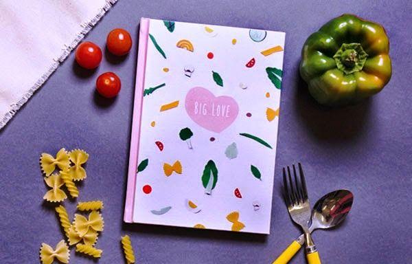 Desain Buku Resep Masakan - Big Love Cookbook oleh Joyce Wong