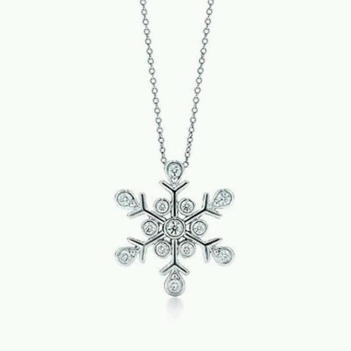 Tiffany snowflake