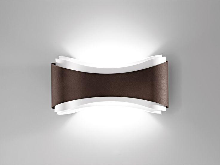 Applique di design in acciaio sagomato Papillon - HomePlaneur