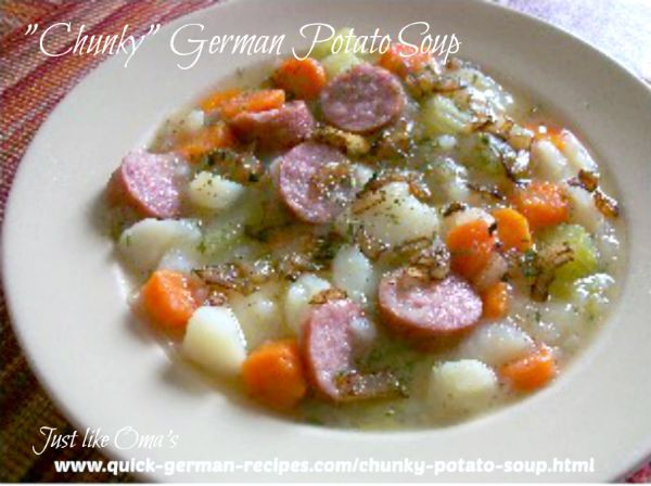 15 best german food dishes images on pinterest german cuisine easy potato soup recipe made just like oma forumfinder Image collections