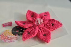 Broche fleur de fille ! | Julypouce tricote