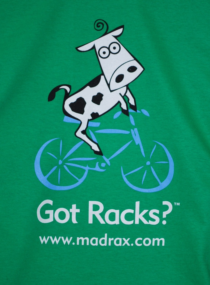 Madrax Bicycle Parking Got Racks T-shirt!