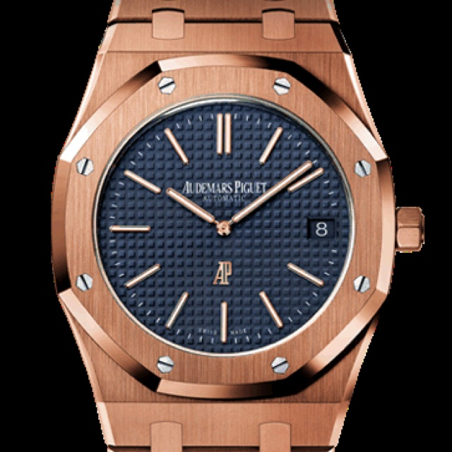 Audemars Piguet Royal Oak blue dial 15400OR.OO.1220OR.03