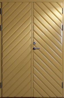 Furö, målad ytterdörr pardörr | Bovalls dörrbyggeri