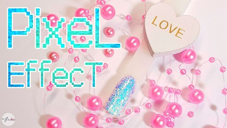 Paznokcie, nails, pixel effect, indigo, kopciuszek, indigo nails, gnails