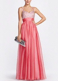 Prom?: David Bridal, Banquet Dresses, Coral Prom Dresses, Formal Dresses, Bridesmaid Dresses, Military Ball Dresses, Bridal Prom, Chiffon Prom Dresses, Chiffon Gowns