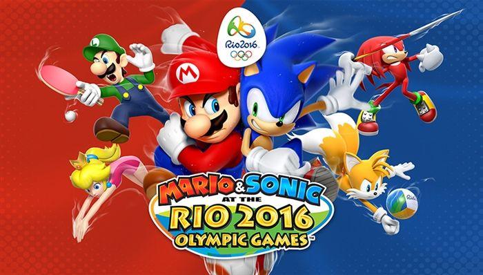 マリオ&ソニック リオオリンピックに収録されている競技種目は?