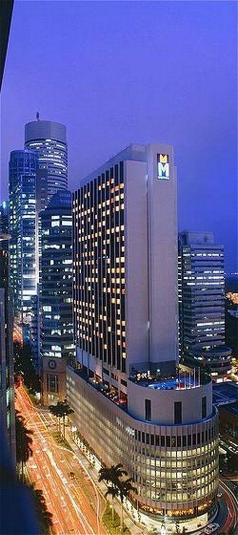 Night view of M Hotel Singapore   http://www.millenniumhotels.com.sg/mhotelsingapore?CID=MHSPinterest