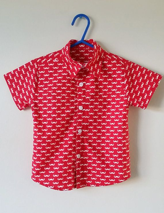 Check out this item in my Etsy shop https://www.etsy.com/uk/listing/263772215/boys-shirt-moustache-novelty-clothes-red