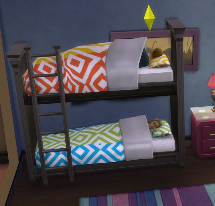 Mod The Sims Functional Bunk Bed Fixed April 2015