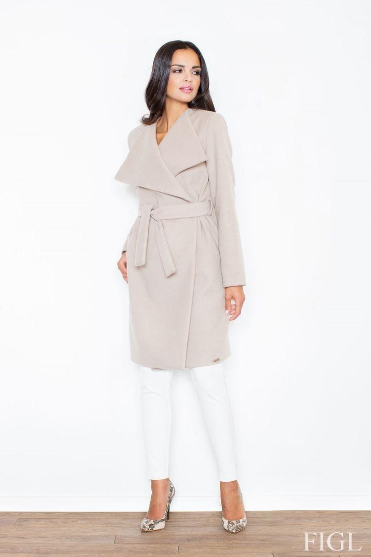 https://www.mokado.pl/Plaszcz-M408-odcienie-bezu-p14647 #plaszcz #mokado #moda #odziez #style #trendy #fashion
