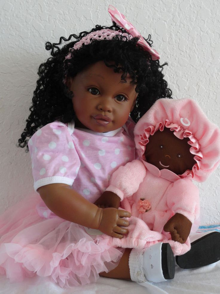 515 Best Images About Black Doll Babies On Pinterest