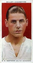 1935-36 W.D. & H.O. Wills Association Footballers #48 Ray Westwood  Front