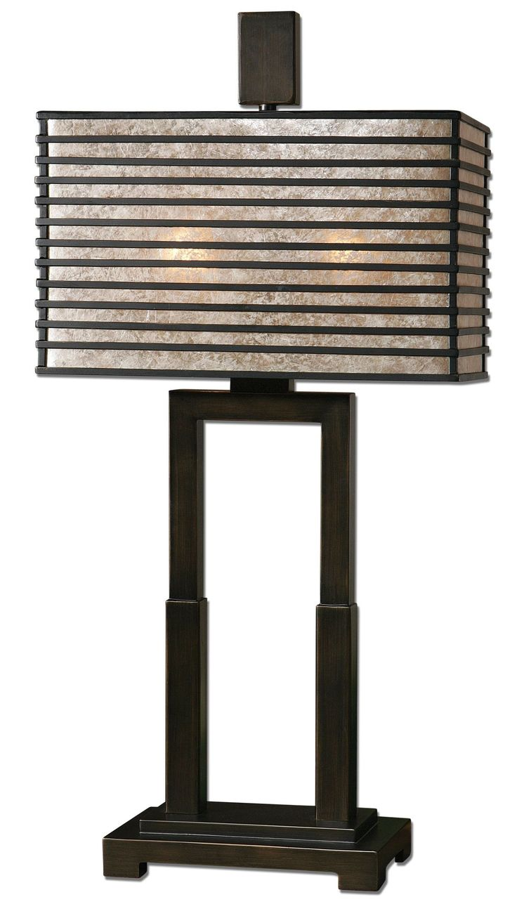 Becton Modern Metal Table Lamp by Uttermost