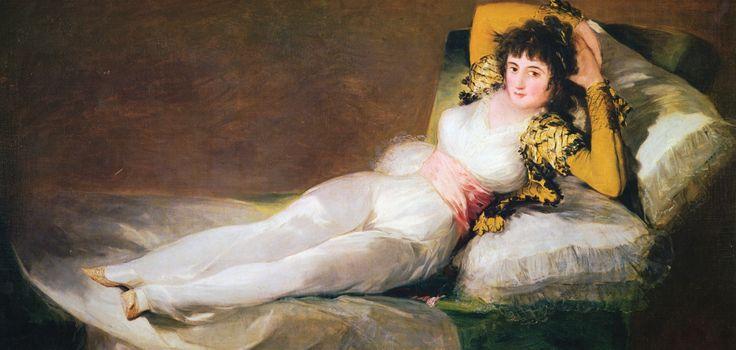 ゴヤ 1801 着衣のマハ 1801-1803  スペイン マドリード プラド美術館