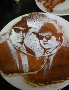 Blues Brothers pancakes