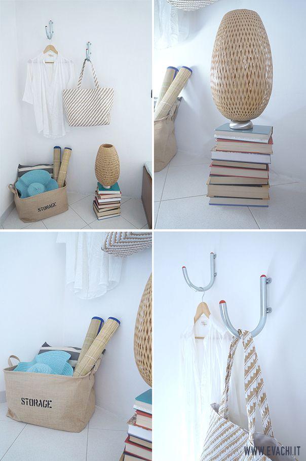 DETAILS: Un piccolo soggiorno di una casa vacanza al mare _ A little living room, Holiday Home [IKEA, H&M Home]